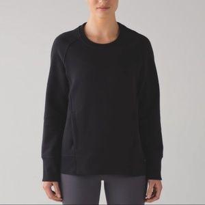 Lululemon Back To It Crew Sweater Black Size 10